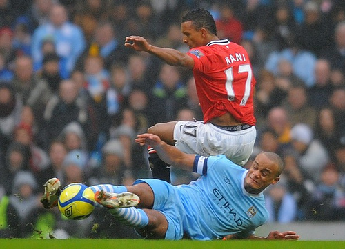 vincent kompany nani Why Kompanys Tackle On Nani Shows How The System Is Broken
