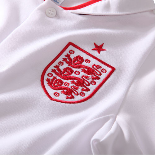 England Home shirt 2012 red crest Englands Future Looks Bright With the Next Generation of Footballers