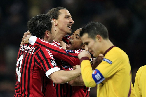 ac milan arsenal Arsenals Season Hangs In The Balance After Champions League Mauling