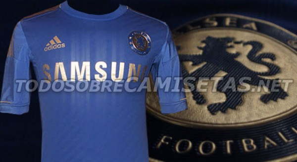 chelsea home shirt 0 600x328 Chelsea Home Shirt for 2012 13 Season, The Real One: New Leaked Photos
