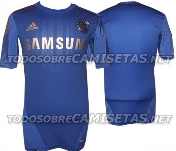 chelsea home shirt 21 600x515 Chelsea Home Shirt for 2012 13 Season, The Real One: New Leaked Photos