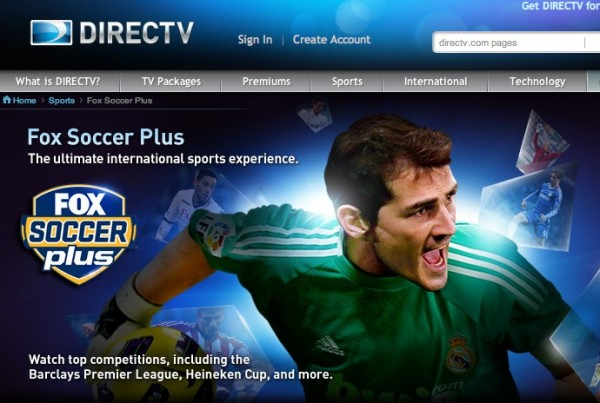 directv fox soccer plus 600x403 DirecTV Offers Soccer Fans Free Preview of FOX Soccer Plus February 20 26
