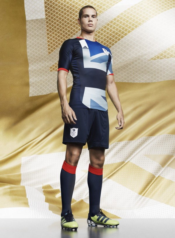 Jack Rodwell TeamGB 2012 600x813 adidas Team GB 2012 Kit Launch [PHOTO]