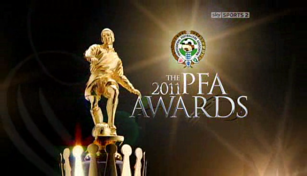 PFA Awards 2011 600x345 Nominees for 2011 12 PFA Player of the Year Award; Evaluating Who Should Win