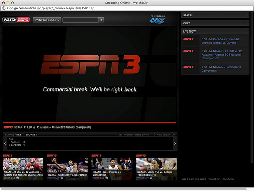 espn3 Why EPL Games Shown on ESPN3 Should Be Available On Demand Too