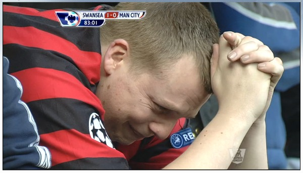 manchester city fan crying Theres More Than One City in the Premier League