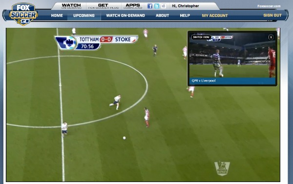 FOX Soccer 2Go In Game Highlights Switch View FOX Soccer 2Go: The Definitive Guide to FOX Soccers Web and Mobile Apps
