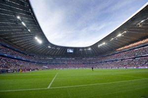 allianz arena pitchview 300x199 UCL: The Allianz Arena