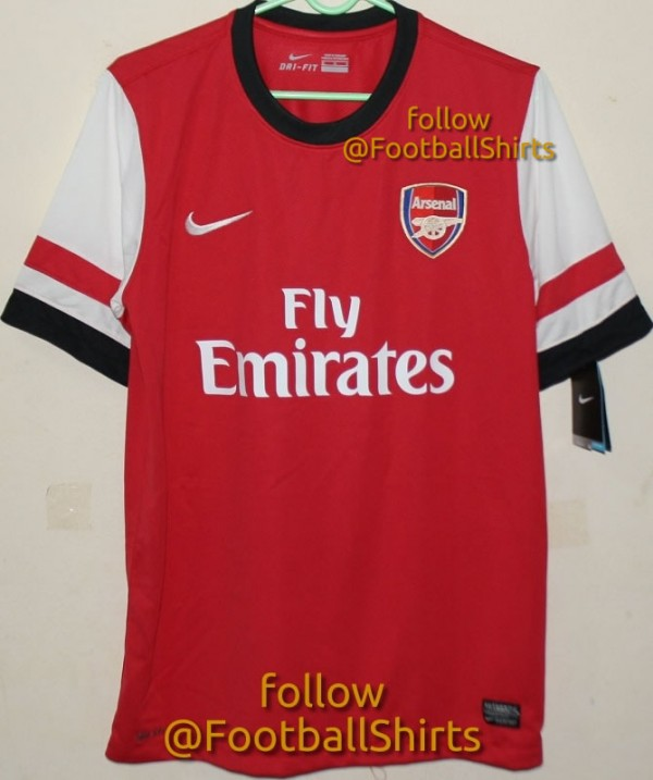 c5f2192e0fb Arsenal Home Shirt for 2012-13 Season  Best Leaked Photo Yet  PHOTO ...