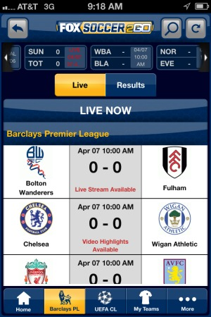 fox soccer 2go iphone app live stream FOX Soccer 2Go: The Definitive Guide to FOX Soccers Web and Mobile Apps