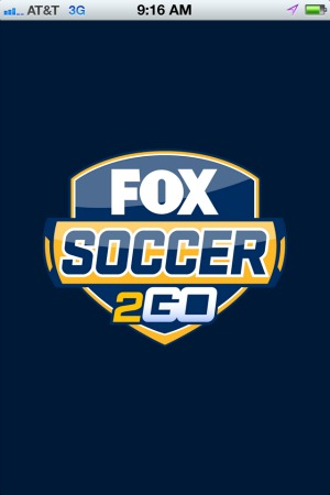 fox soccer 2go iphone app opening screen1 FOX Soccer 2Go: The Definitive Guide to FOX Soccers Web and Mobile Apps