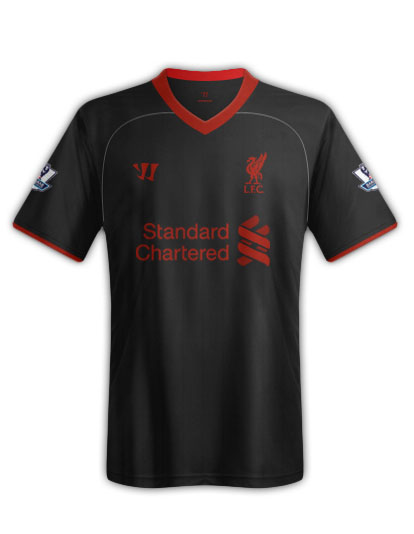 liverpool away shirt1 Are these Liverpools Home, Away and Third Shirts fo