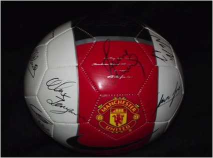 manchester united ball My First 365 Days as a Follower of Premier League Soccer