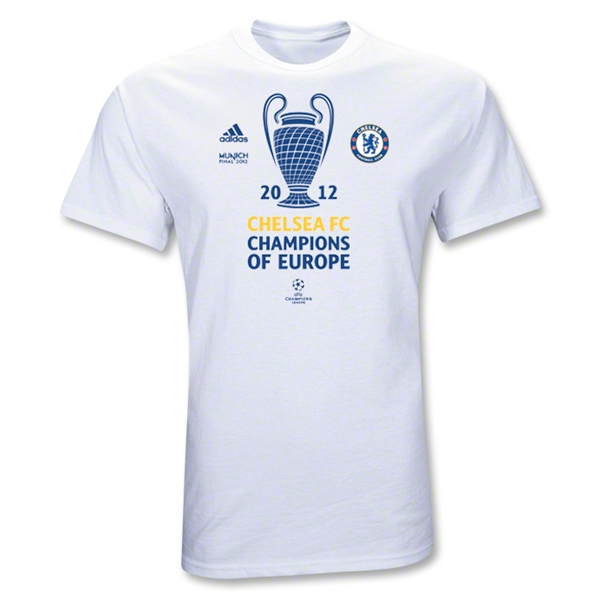 chelsea champions league tshirt Chelsea 2012 Champions League Winners T Shirt: Now Available to Pre Order