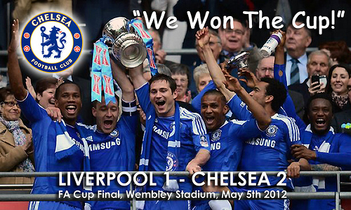 chelsea fa cup Arsenal and Liverpool Fans Taunting Youve Got No History at Chelsea Are Living In The Past