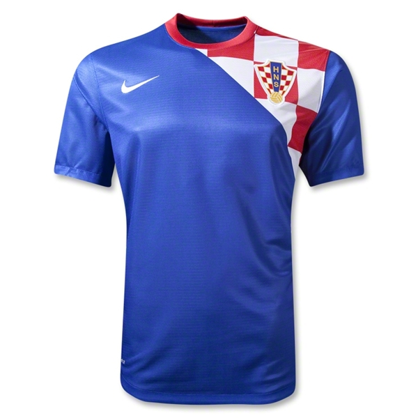 croatia away shirt euro 2012 Euro 2012 Shirts: Official Home and Away Jerseys For All 16 Teams