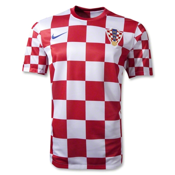 croatia home shirt euro 2012 Euro 2012 Shirts: Official Home and Away Jerseys For All 16 Teams