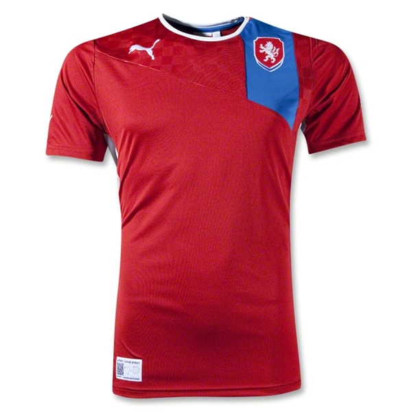 czech republic home shirt euro 2012 Euro 2012 Shirts: Official Home and Away Jerseys For All 16 Teams
