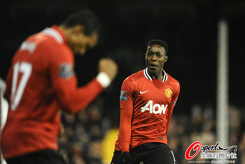 danny welbeck 4 Young Players that May Set Euro 2012 Alight From Group D