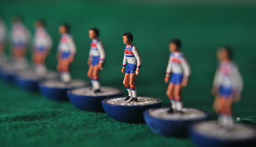 england subbuteo Who Should Start Up Front for England at Euro 2012?