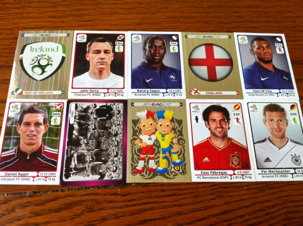 euro 2012 panini stickers wide Panini Launches UEFA Euro 2012 Soccer Stickers In United States