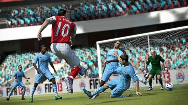 fifa 13 arsenal man city 600x336 5 New Enhancements Featured in FIFA 13 [PHOTOS]
