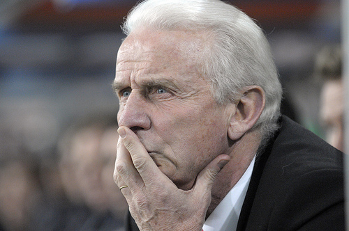 giovanni trapattoni trainer von red bull salzburg. Trapattoni Gives Ireland A Chance to Forget the Decline Of Recent Times
