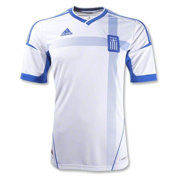 greece home shirt euro 2012 Euro 2012 Shirts: Official Home and Away Jerseys For All 16 Teams