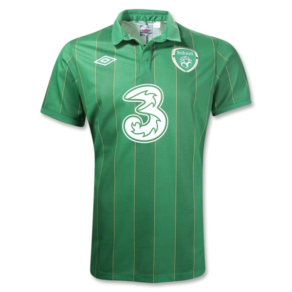 ireland home shirt euro 2012 Euro 2012 Shirts: Official Home and Away Jerseys For All 16 Teams