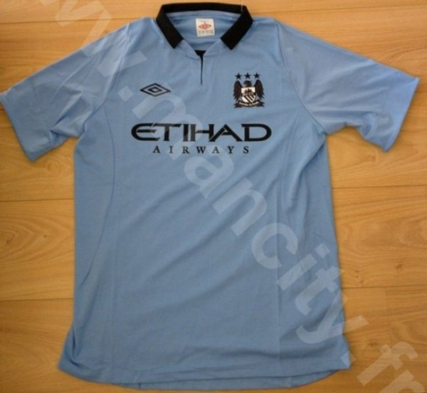 man city home shirt 2012 600x552 Manchester City Home Shirt for 2012 13 Season: Another New Leaked Image [PHOTO]