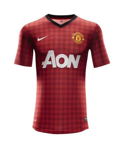 man united home shirt front Manchester United Home Shirt for 2012 13 Season: Officially Unveiled [PHOTOS]