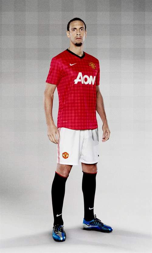 Manchester United Home Shirt for 2012 13 Season: Officially Unveiled [PHOTOS]