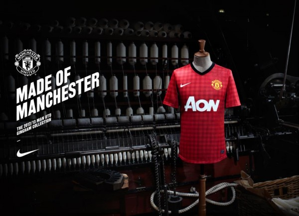 manchester united home shirt1 600x434 Manchester United Home Shirt for 2012 13 Season: Officially Unveiled [PHOTOS]