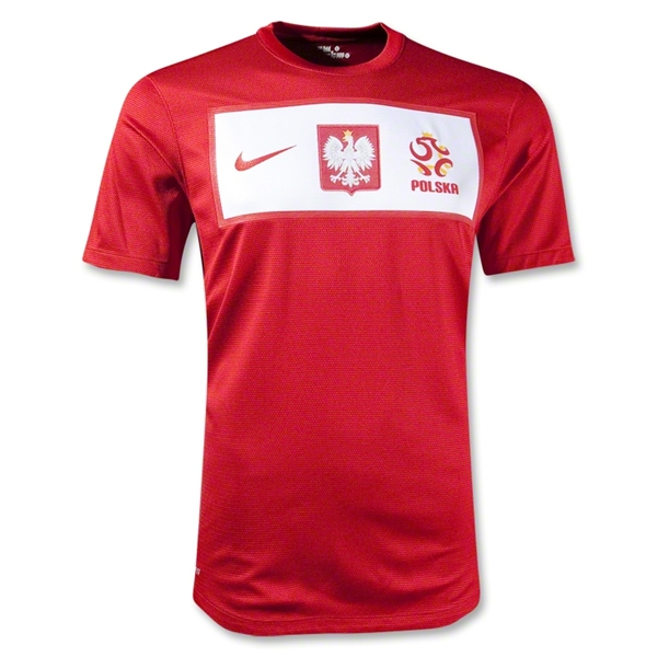 poland away shirt euro 2012 Euro 2012 Shirts: Official Home and Away Jerseys For All 16 Teams