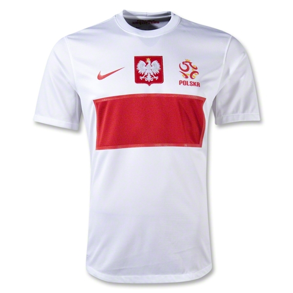 poland home shirt euro 2012 Euro 2012 Shirts: Official Home and Away Jerseys For All 16 Teams