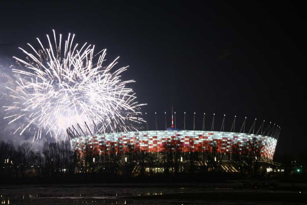 poland national stadium warsaw d310112 600x400 Euro 2012 Host Cities and Stadia