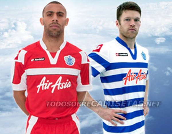 qpr home away kits 600x468 Queens Park Rangers Home and Away Kits for 2012 13 Season [PHOTO]