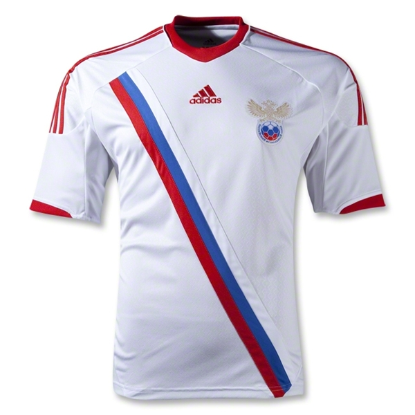russia away shirt euro 2012 Euro 2012 Shirts: Official Home and Away Jerseys For All 16 Teams