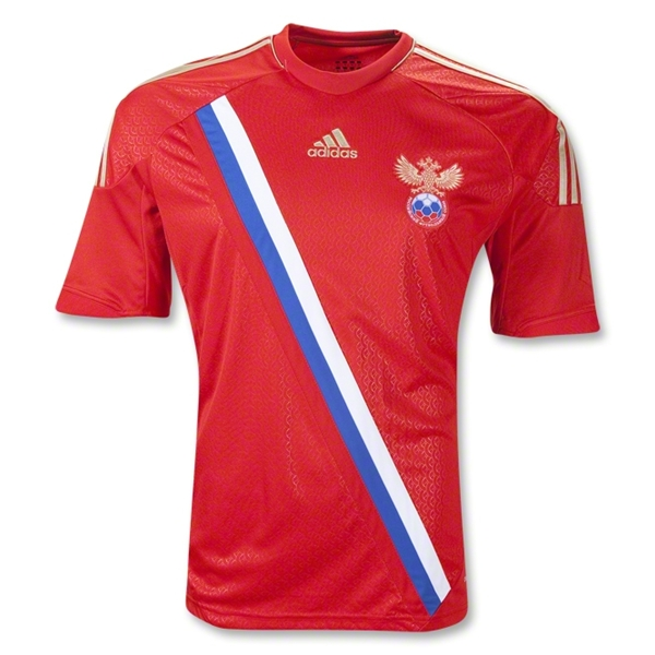 russia home shirt euro 2012 Euro 2012 Shirts: Official Home and Away Jerseys For All 16 Teams