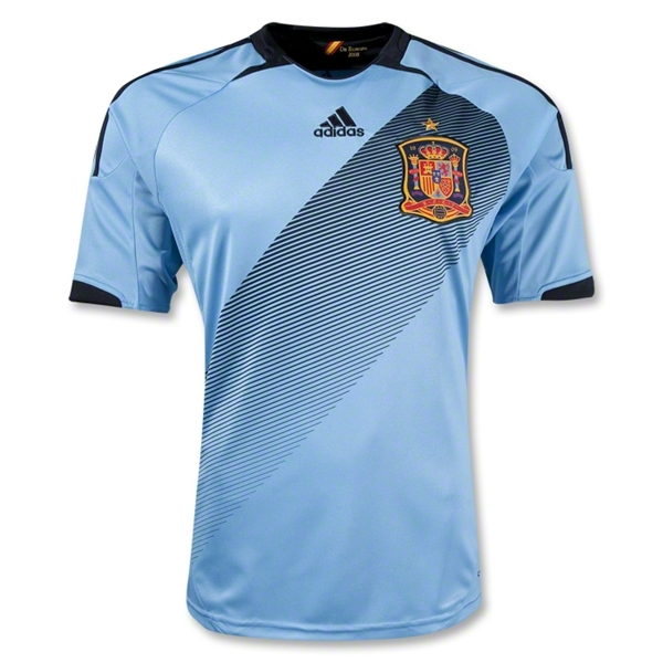 spain away shirt euro 2012 Euro 2012 Shirts: Official Home and Away Jerseys For All 16 Teams