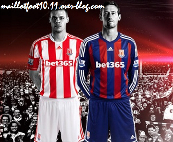 Stoke City Home and Away Shirts for 2012 13 Season: Away Kit Looks Like Barcelona [PHOTOS]