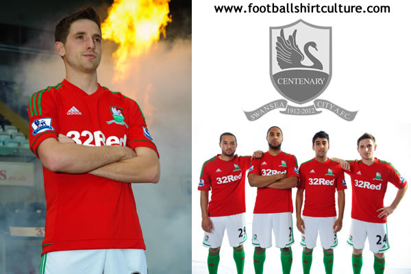 9c9c7ae0d Swansea unveil new kits for 2013-14