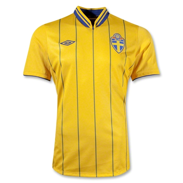 sweden home shirt euro 2012 Euro 2012 Shirts: Official Home and Away Jerseys For All 16 Teams