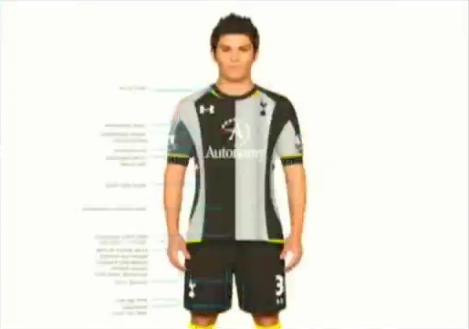 tottenham third shirt tiff Tottenham Hotspur Away and Third Shirts for 2012 13 Season [PHOTOS]