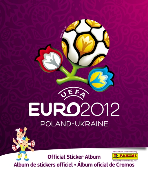 Panini Launches UEFA Euro 2012 Soccer Stickers In United States