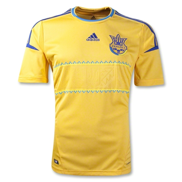 ukraine home shirt euro 2012 Euro 2012 Shirts: Official Home and Away Jerseys For All 16 Teams