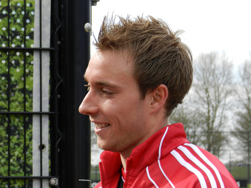 Christian Eriksen 4 Young Players that May Set Euro 2012 Alight From Group B