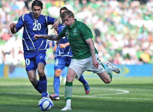 James McClean 4 Young Players that May Set Euro 2012 Alight From Group C
