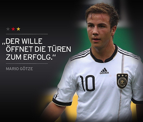 Mario Götze 4 Young Players that May Set Euro 2012 Alight From Group B