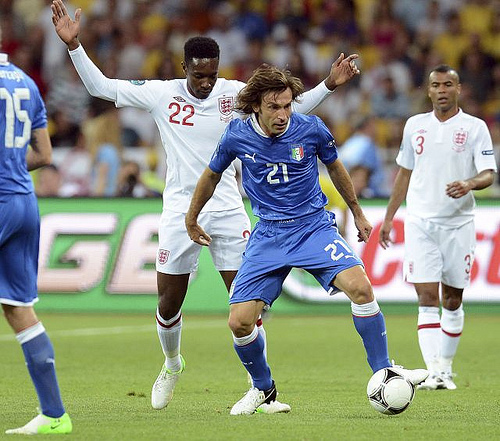 andrea pirlo Euro 2012 News: Paul Scholes is Englands Pirlo, says Michael Owen